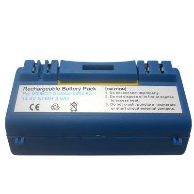 14.4V Vacuum Cleaner Battery for iRobot Scooba 5900
