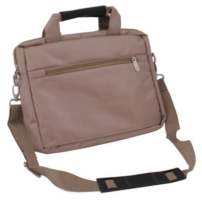 "Brown Laptop Carry Case Bag Cover for 10.1""Samsung P7510 P7100 iPad 1/2 Acer A500 W500"