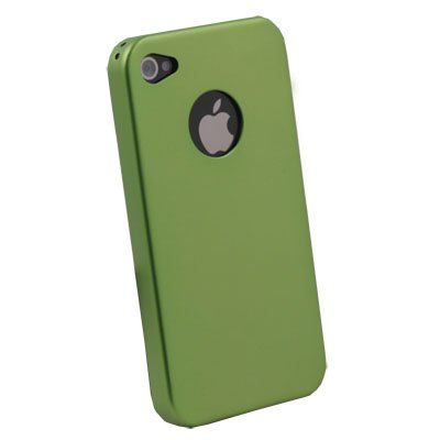Aluminum Metal Case Cover for iPhone 4 4G Green