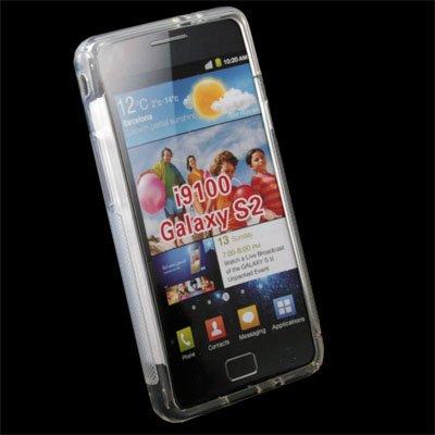 For Samsung Galaxy S II i9100 TPU Gel Skin Case Cover