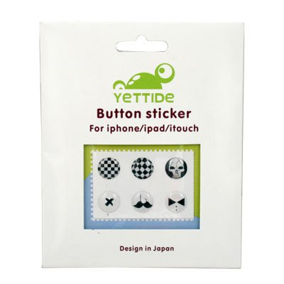 For iPhone 3 4 ipad itouch Home Button Sticker