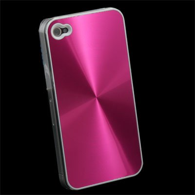 Pink CD Hard Case Accessory for Apple iPhone 4 4G