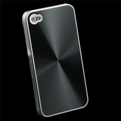 For iPhone 4 4GCD Hard Back Case Skin Cover(Black)