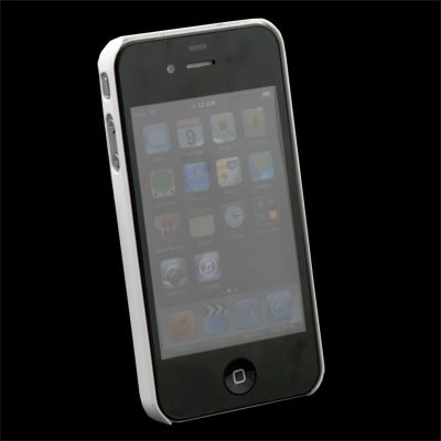 Hard Thin Case Cover for Apple iPhone 4G 4 White