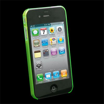 Green Unbreakable Case Accessory for Apple iPhone 4 4G