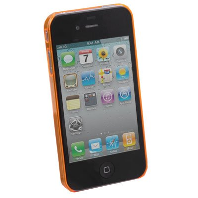 Orange Unbreakable Case for iPhone 4 4G 4S