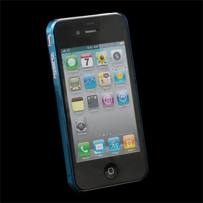 Blue Unbreakable Case Cover for Apple iPhone 4 4G