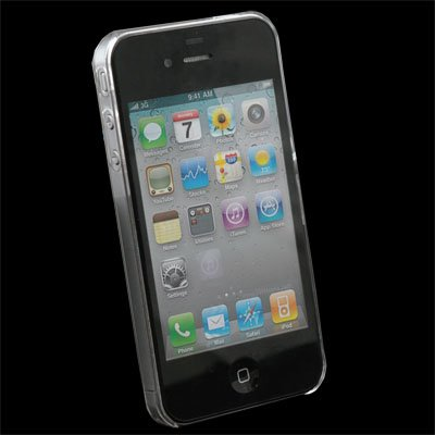 Unbreakable Clear Case Cover for Apple iPhone 4 4G