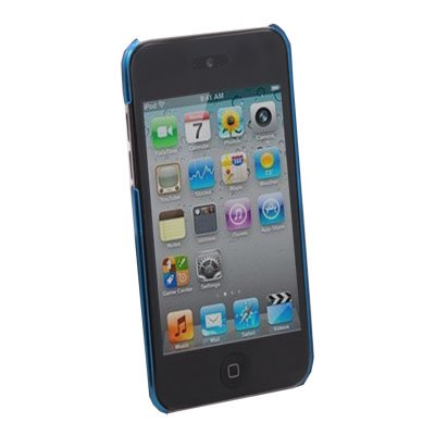 Unbreakable Case Cover for iPod Touch 4 (Azure)