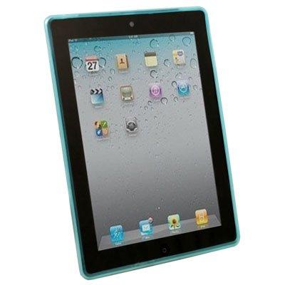 For Apple iPad 2 Dotwave Rubber Skin Case Cover Blue