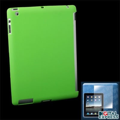 Green Smart Cover Companion Case + Protector for iPad 2