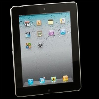 White Crystal Hard Case Sleeve for Apple iPad 2