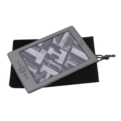 Black Sleeve Pouch Case Bag for Latest Amazon Kindle 4