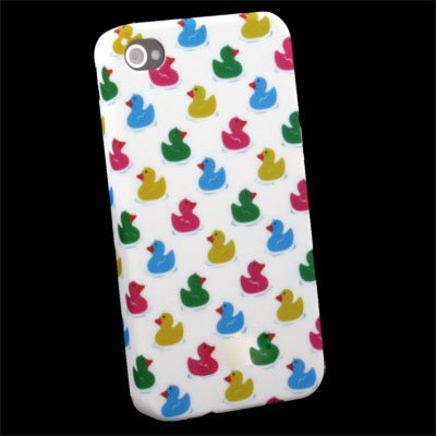 Duck Pattern Slim Hard Case Cover For iPhone 4 4G