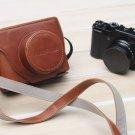 AST New Camera Case Bag for FUJIFILM FUJI Finepix X10 lc-x1 - Brown #P10-C394#