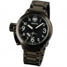 NEW INFANTRY MILITARY ARMY CLASSIC WHITE FORCE BLACK STAINLESS STEELS QUARTZ WATCH (IN-008-W-S)