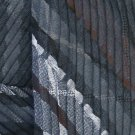 Angelina Creased Fashion Scarf/Shawl - Steel Gray #Angelina-WN116steel#