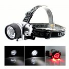 9 LED Headlamp Mining Hiking Camping Head Gear Safety Tools Bike Night Light#12283#{3}