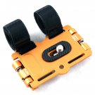 New Gold Ball Head Camera Flash Bracket Mount Holder on Bicycles/Bike/Motorcycle