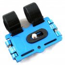 New Blue Ball Head Camera Flash Bracket Mount Holder on Bicycles/Bike/Motorcycle