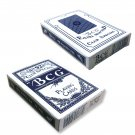 2 Decks BCG Poker Club No.92 Diamond Back Paper Playing Card Blue(Ship US Country Only) #9583x2#