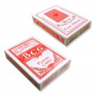 12 Decks BCG Poker Club Special No.92 Diamond Playing Card Red (Ship US Country Only)#9584x12#