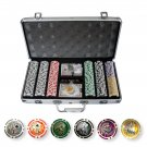 300 Casino Table Hi Roller Poker Chips Set (Ship US Country Only)#15353#