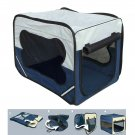 Portable Carrier Dog Cat Kennel Cage Travel Folding Bag Soft Crate House(Ship US Only) SF-16836{4}