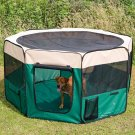 Pet Playpen Cage Exercise Crate Tent Puppy Dog Soft Kennel House Folding(Ship US Only) SF-16837{4}