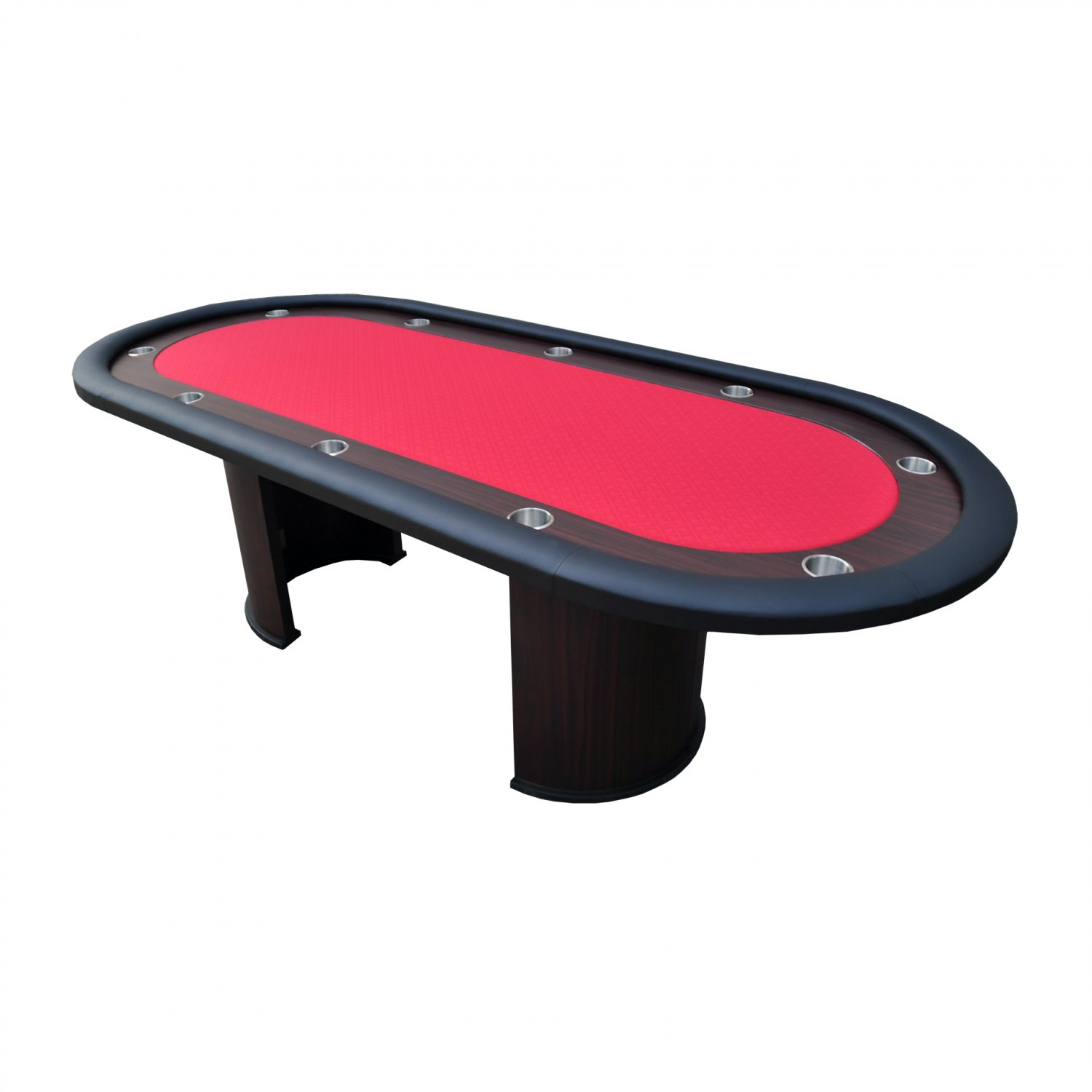 "96"" Professional Texas Holdem Casino Poker Table Red Ver.2(Ship US Country Only) #16365-R#"