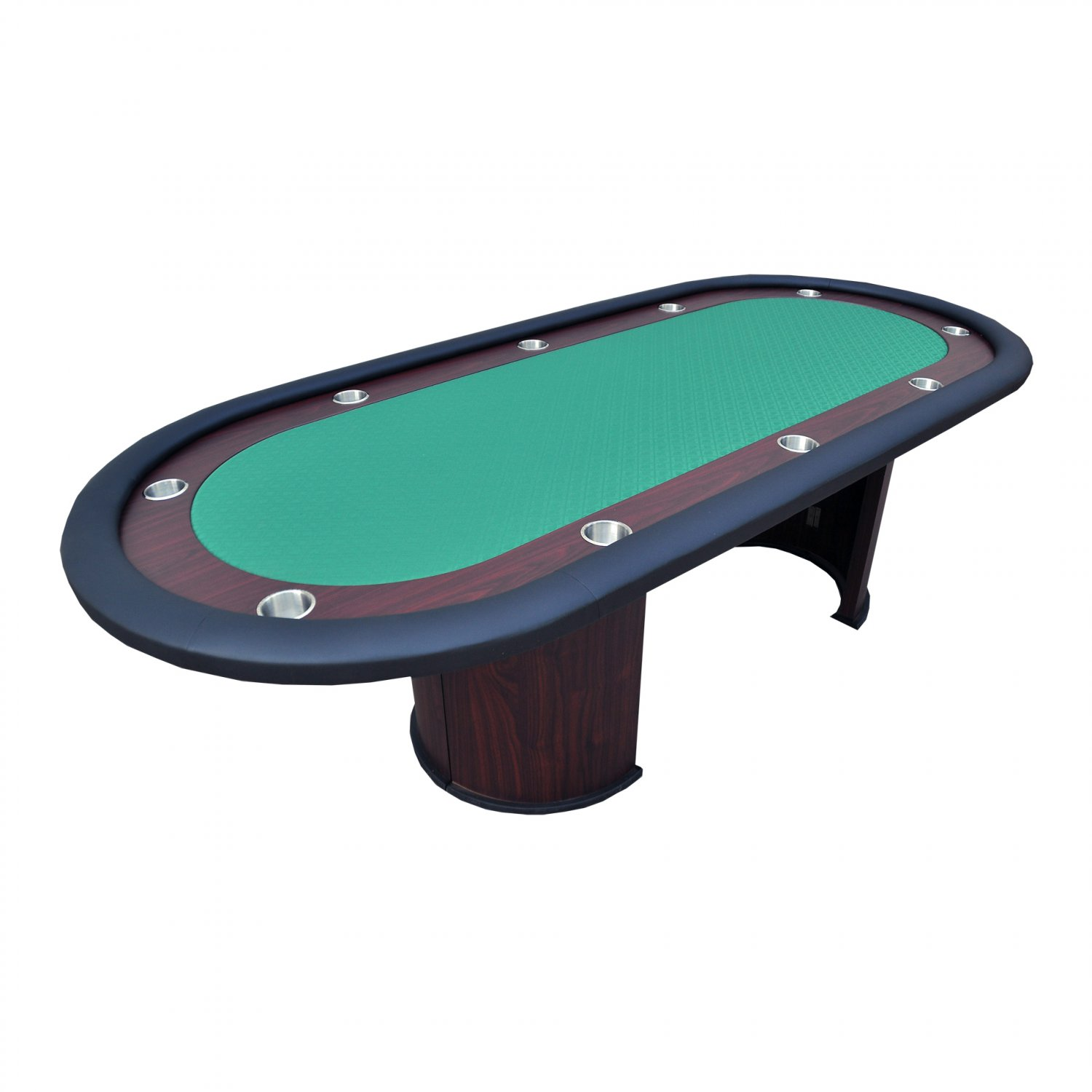 "96"" Professional Texas Holdem Casino Poker Table Green Ver.2(Ship US Country Only) #16365-G#"