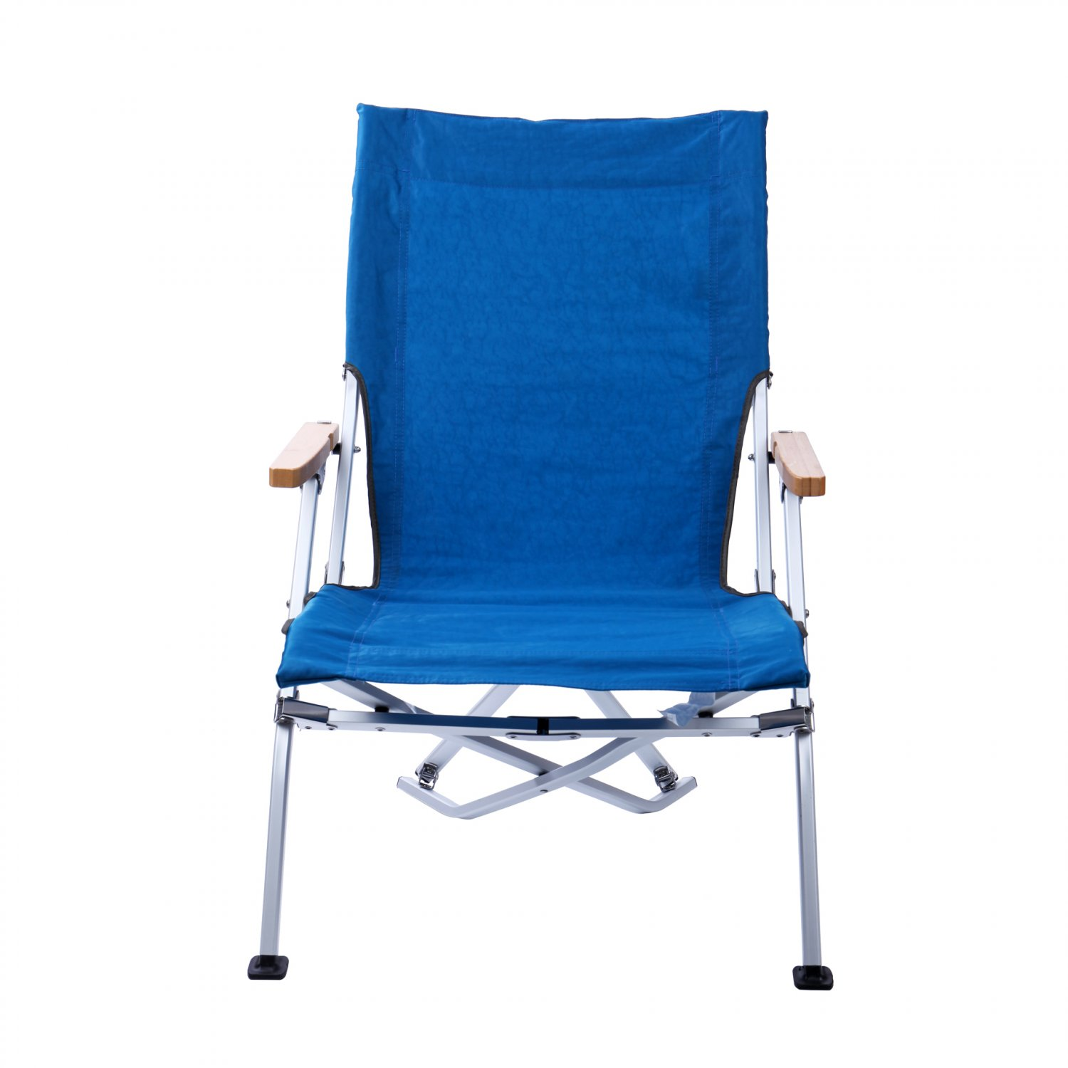 Lightweight Portable Folding  Low Chair Camping Seat W/ Carry Bag Blue(Ship US Only)SK-17137-BL{4}