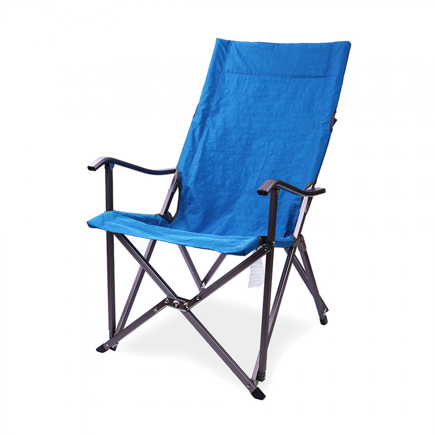 Lightweight Portable Folding Relax Chair Camping Seat W Carry Bag Blue Ship