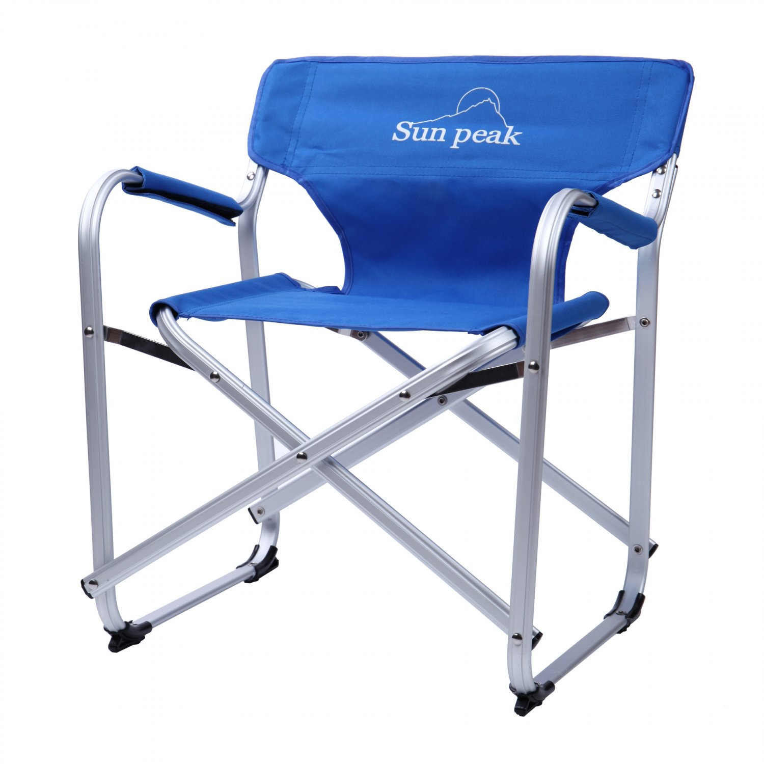 Lightweight Mini Portable Folding Chair Camping Seat W/ Carry Bag Blue(Ship US Only)SK-17143-BL{4}