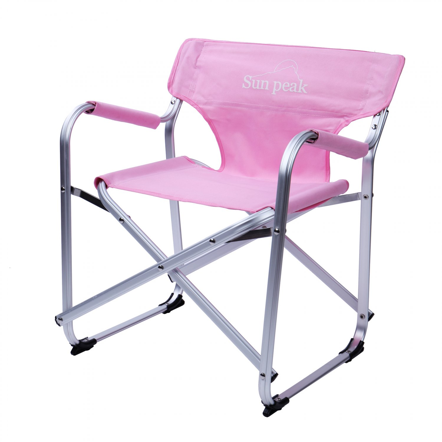 Lightweight Mini Portable Folding Chair Camping Seat W Carry Bag Pink Ship U