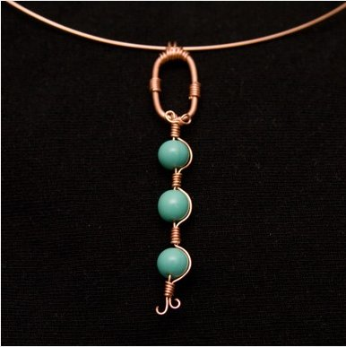 Turquoise Tribal Pendant