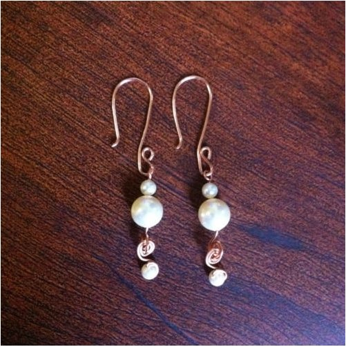 Swirl Kissed Swarovski Pearls