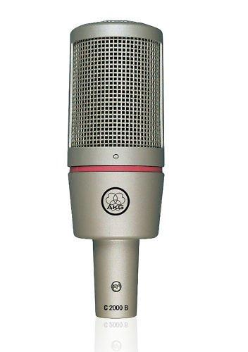 AKG C 2000 B Studio Condenser Recording Microphone