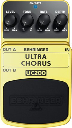 Behringer UC200 Ultra Stereo Chorus Pedal