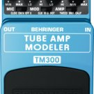 Behringer TM300 Tube Amp Modeling Effects Pedal
