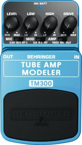 Behringer TM300 Tube Amp Modeling Effects Pedal