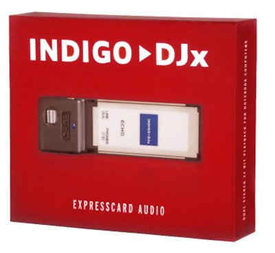 Echo Indigo DJ x ExpressCard for Notebook Computers