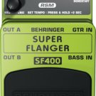 Behringer SUPER FLANGER SF400 Ultimate Flanger Effects