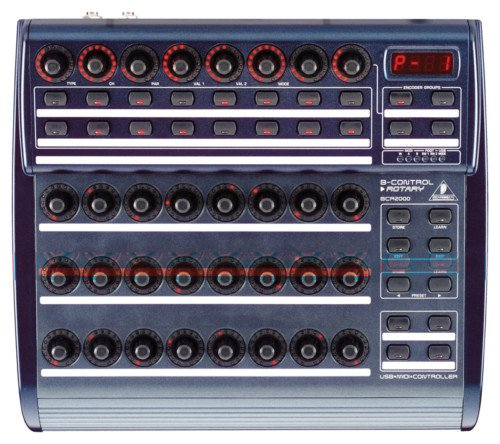 Behringer BCR2000 B-Control Rotary Control Surface