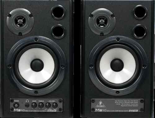 Behringer MS40 Powered Studio Monitors (Pair)