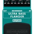 Behringer BUF300 Ultra Bass Flanger Pedal
