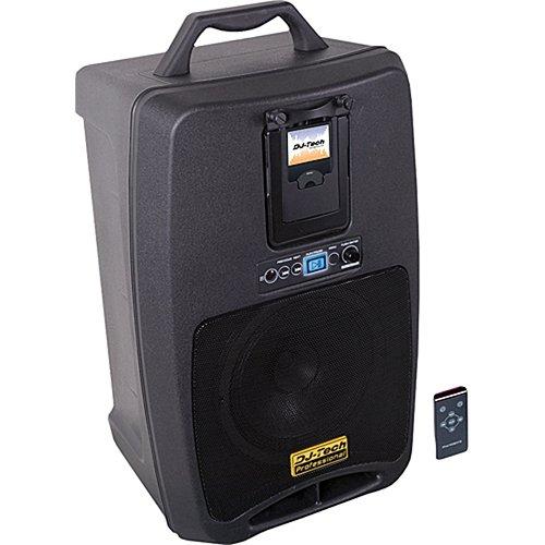 DJ-Tech iVisa 80 Light Battery Powered PA System