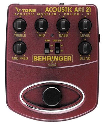 Behringer ADI21 V-Tone Acoustic Modeler Preamp and DI
