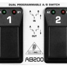 Behringer AB200 Dual A/B Footswitch