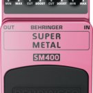 Behringer SM400 Super High-Gain Distortion Pedal